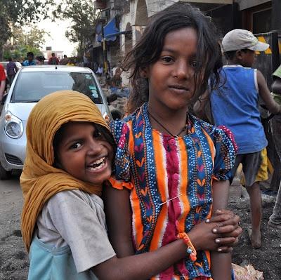 Girls in Mumbai India