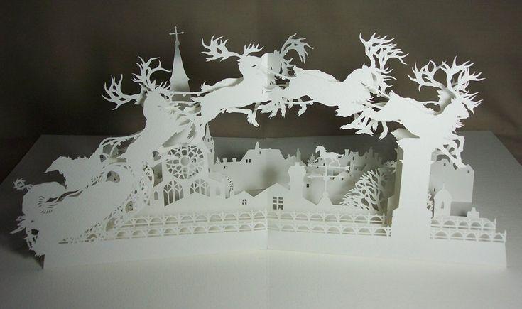 Night Before Christmas: Pop-Up by Himmapaan.deviantart.com on @deviantART