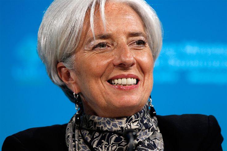 Самые влиятельные женщины мира. Глава МВФ Кристин Лагард.
