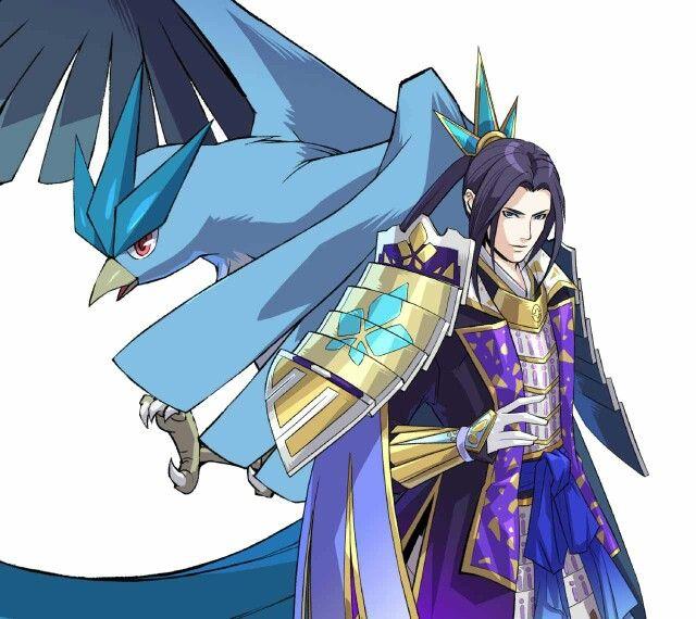 mitsuhide and articuno pokemon conquest