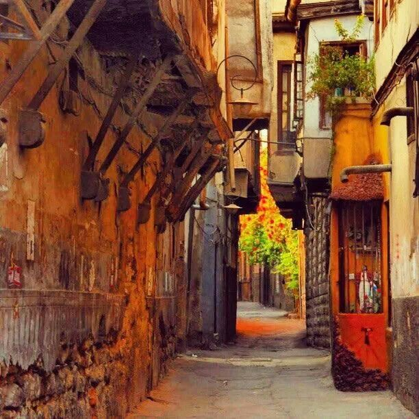 Damascus, the old city, Syria.