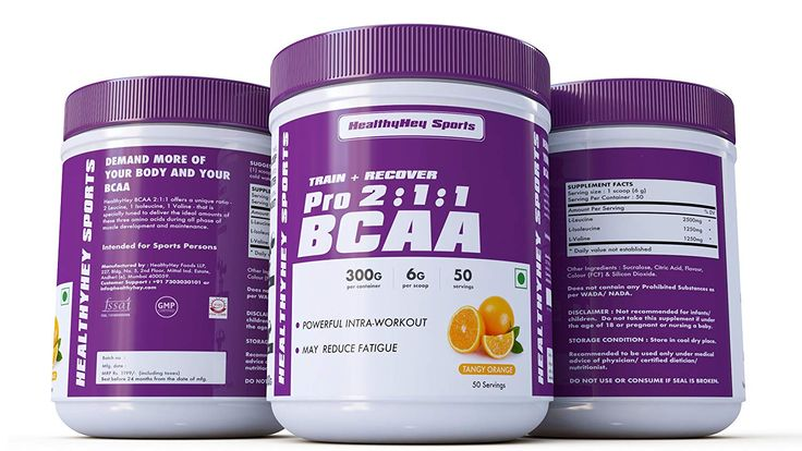 HealthyHey Sports 211 Branched Chain Amino Acids, Bcaas