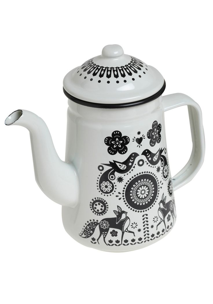 I like tea better in theory than reality, but I want this teapot anyway. Plus, I could totally serve coffee out of it, right?