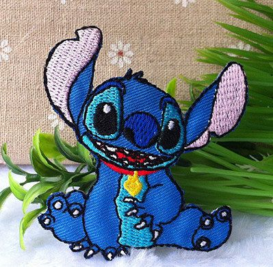 Lilo & Stitch iron on patch E044 by happysupply on Etsy, $2.60