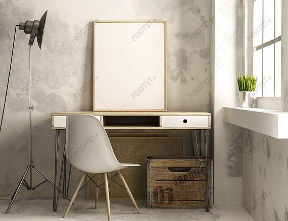 Poster Frame Photography Style / Frame Mockup / Poster Mockup/