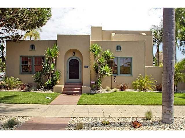 Spanish bungalow dream home pinterest for Spanish bungalow floor plans