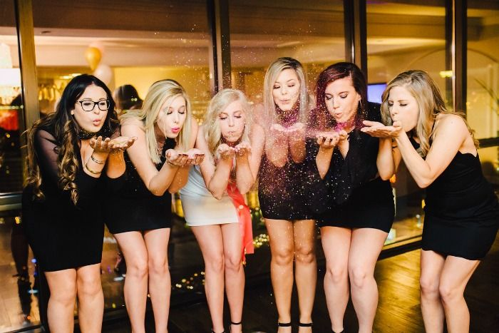 Looking for tips on how to throw a killer Las Vegas bachelorette party? Follow this group's lead, they threw an amazing celebration for their bride-to-be!