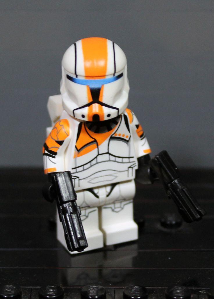Lego Star Wars ARF Commander Jacob Clone Wars Scout Trooper Custom figure.