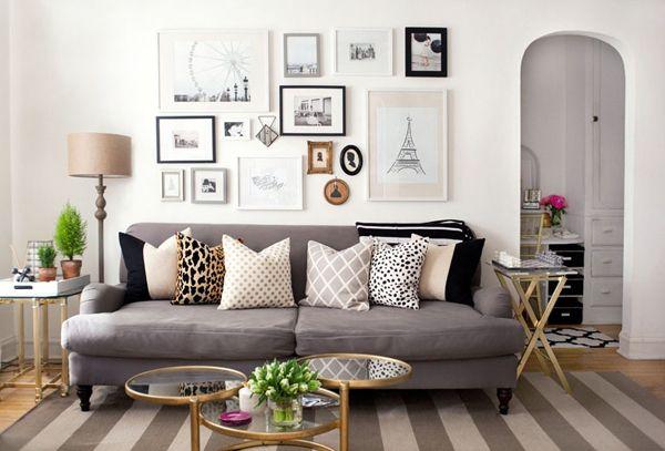Live Creating Yourself.: LCY Yard Sale: Custom Headboard, Lamps, Rug, and English Roll Arm Sofa!