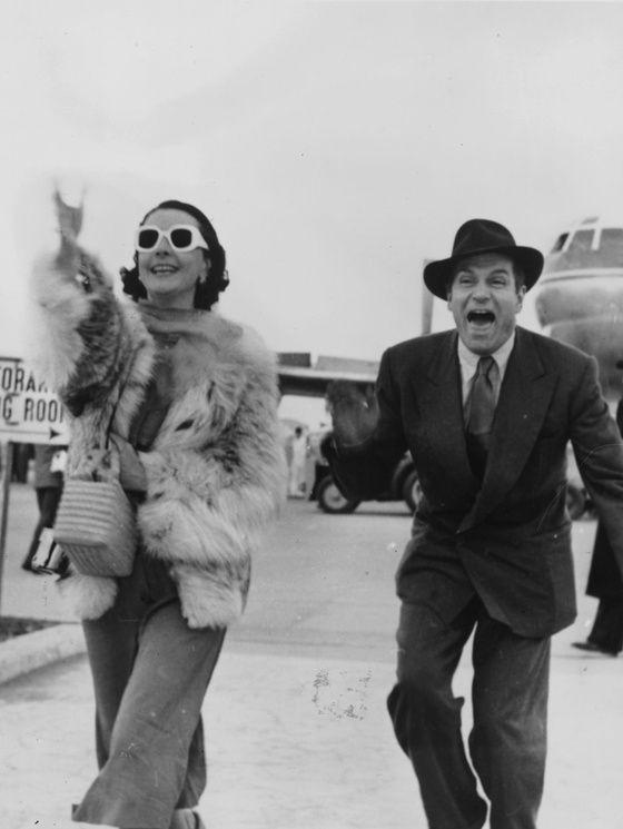 Vivien Leigh & Laurence Olivier (Rome, 1953)
