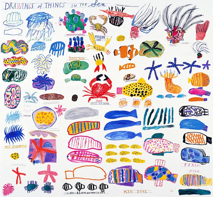 Ken Done - shop / limited prints / drawings-of-things-in-the-sea