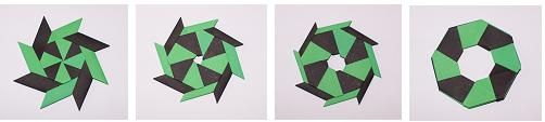 Action Origami Diagrams - over 100 free diagrams for origami models that move.