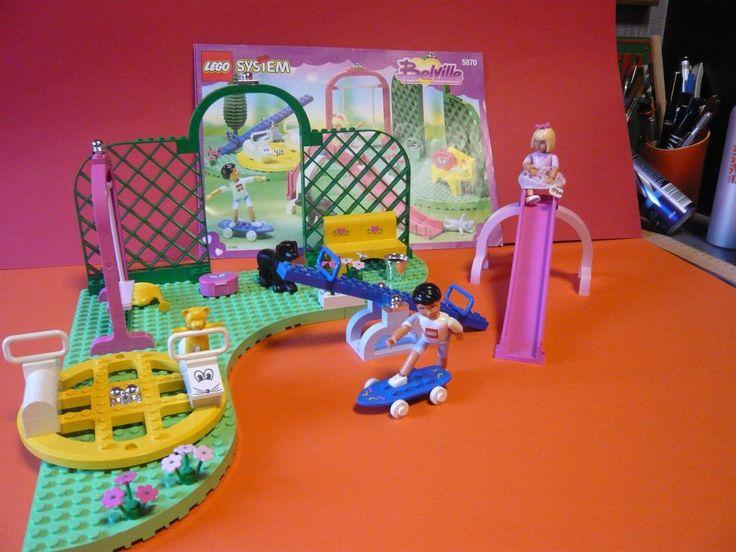Lego belville - 5870 - Spielplatz   Spielzeug, Baukästen & Konstruktion, LEGO   eBay!