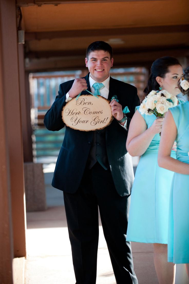 The 16 best yashi wedding images on pinterest bridesman bridal hand painted sign for the man of honor instead of a bouquet junglespirit Images