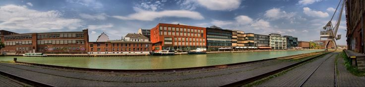 Münster Hafenpanorama