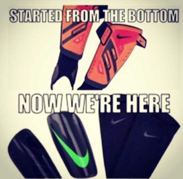 Dang I remember when I had those shin guards and now I have the new ones they have changed a lot