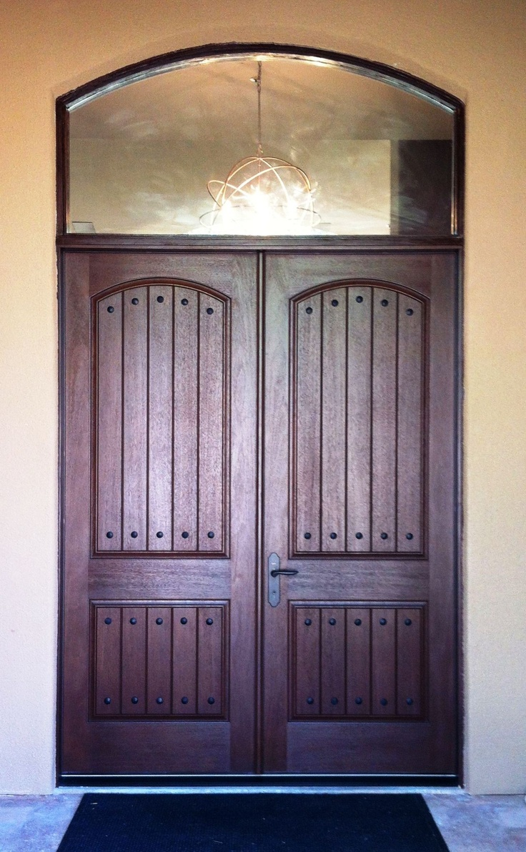 Illumination Co Team Installed Therma Tru Rustic Fiberglass Double Entry Door In Arizona Www