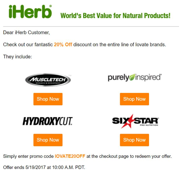 Enjoy 20% OFF Sports Brands: Muscletech, Purely Inspired, Hydroxycut, Six Star ☞ http://www.iherb.com/specials/?rcode=PVT821 Simply enter promo code IOVATE20OFF at the checkout page to redeem your offer. #muscletech #nitro #beauty #supplements #soap #bath #herb #herbs #healthcare #sale #discount #promo #wheyprotein #vitamins #fitness #weightloss #muscle #sport #special #protein #whey #isolate #amino #aminoacid #stack #proteinbar #iherb #store #shop #onlinestore