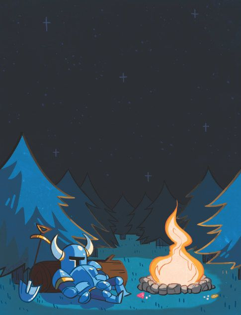 Shovel Knight Print/Poster by Greerby on Etsy