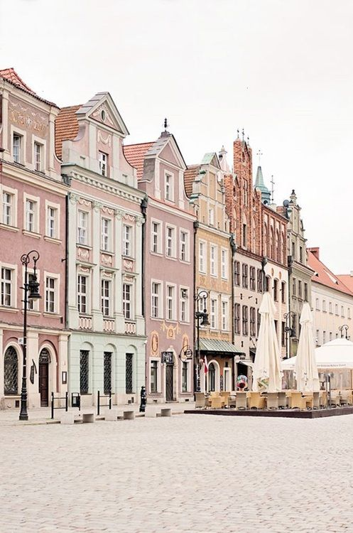 Poland.  It looks like Poland through a Wes Anderson filter.  Doesn't it?