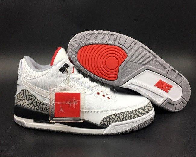 pretty nice 9e700 c3ef8 Air Jordan 3 NRG JTH Tinker White Cement For Sale