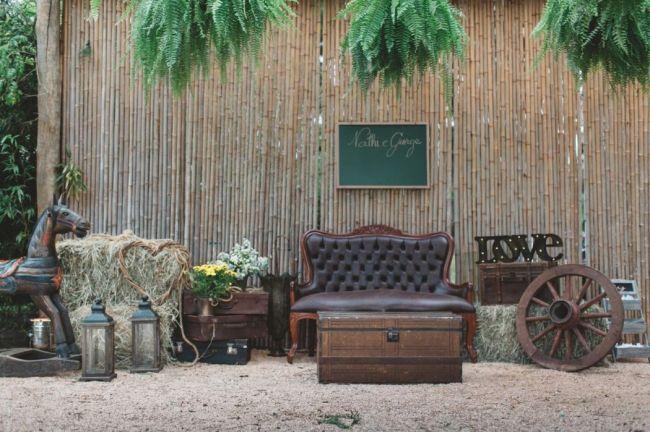 Malas antigas na decoração do casamento: vintage e chique! Image: 22