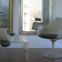 Eames , Poul Kjærholm + vintage mirrors