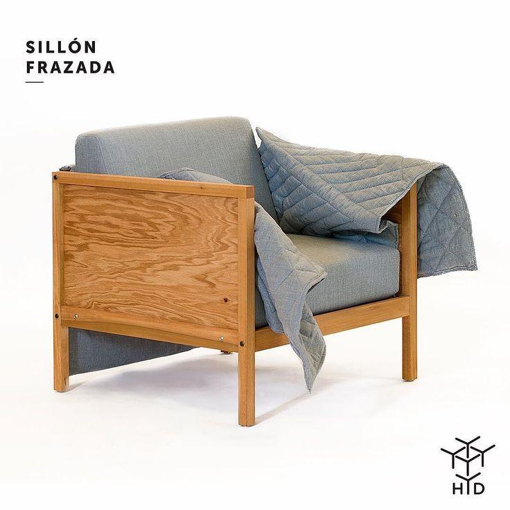 Tarde de lluvia?  Que tu sillón favorito de abrace! Sillón Frazada diseño de Emiliano Godoy. #lluvia #tarde #lunes #abrazar #calientito