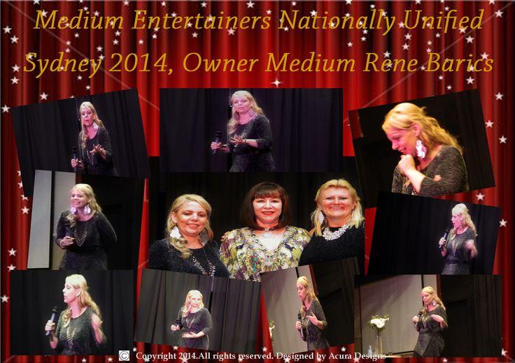Performing Platform Mediumship on Stage in Sydney 2014