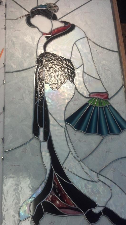 17 beste afbeeldingen over stained glass people op pinterest. Black Bedroom Furniture Sets. Home Design Ideas