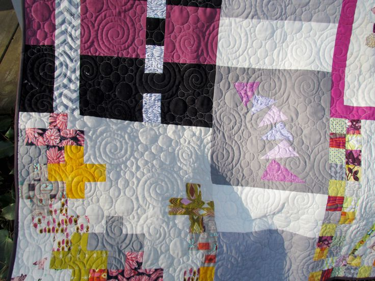 Marty Mason traveling quilt quilted love