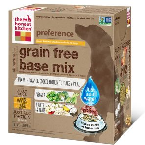 The Honest Kitchen - Preference Meat-Free Base Mix - Dehydrated Dog Food - various sizes
