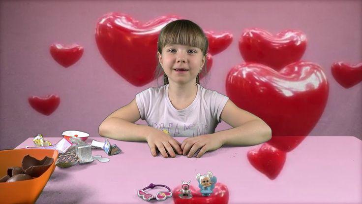 КИНДЕР ДЖОЙ и ШАРЫ ЧУПА ЧУПС - джордж космонавт, куколка и браслет #528