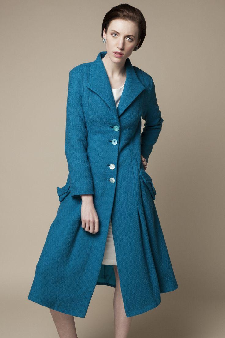 Pygmalion coat by Unicorn design, eco-fashion label