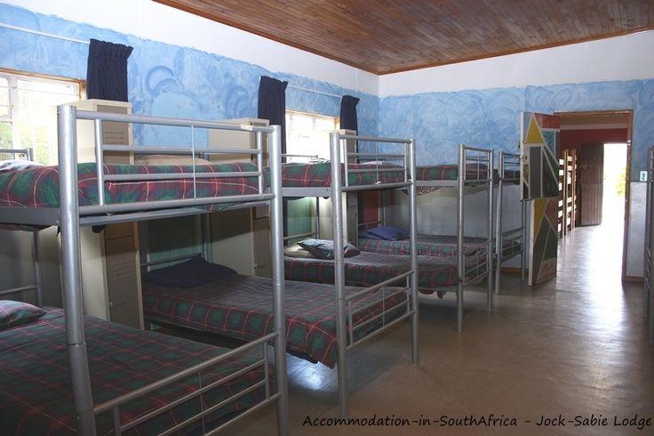 Youth hostel available at Jock-Sabie Lodge. http://www.accommodation-in-southafrica.co.za/Mpumalanga/Sabie/JockSabieLodge.aspx