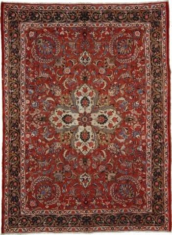 8 5 X 11 Birjand Red Area Rug Beautiful From Iran In