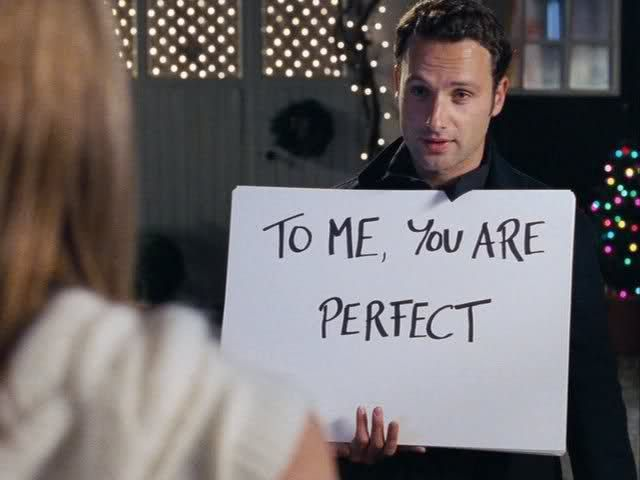 Love Actually. Favorite movie of ALL TIME!