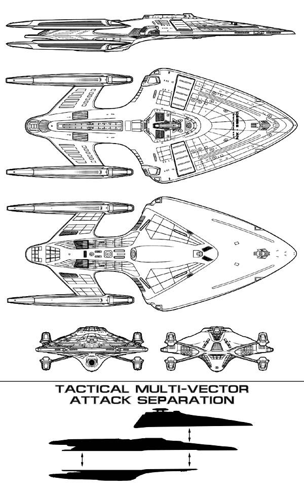 Official schematics to the U.S.S. Prometheus from the