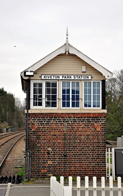 Kiveton Park Railway Station which was built to serve the local Lime works, in Kiveton Park, Rotherham, South Yorkshire.