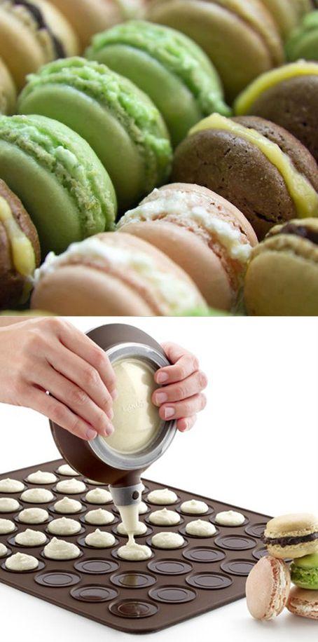 DIY Macaron Kit | food | Pinterest | Cake tutorial ...