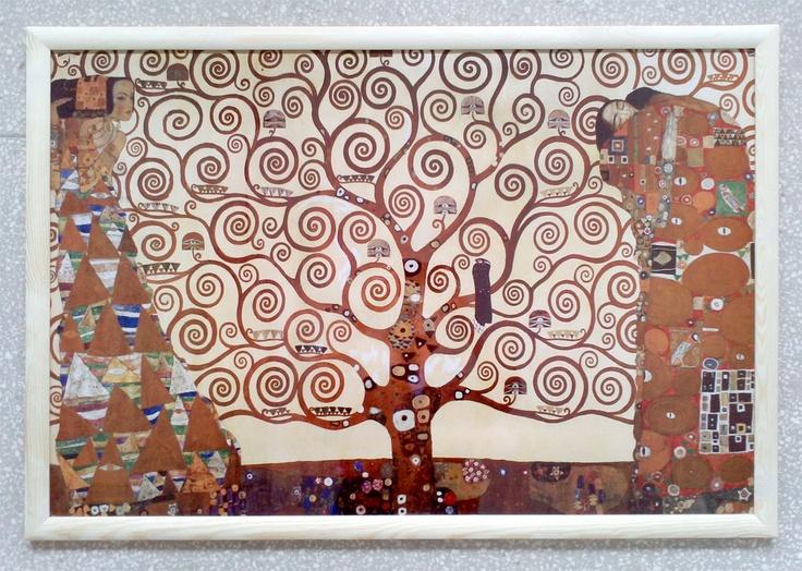 GUSTAV KLIMT - Drzewo Życia - plakat - Galeria Plakatu