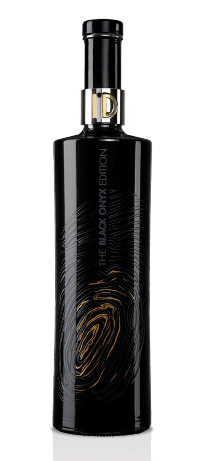 ID Black Onyx Edition Vodka, Egypt  More vodka packaging.