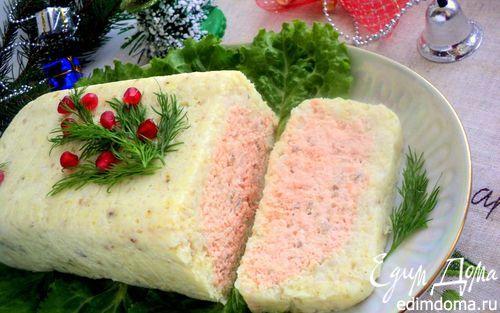 Террин из красной и белой рыбы   Кулинарные рецепты от «Едим дома!»
