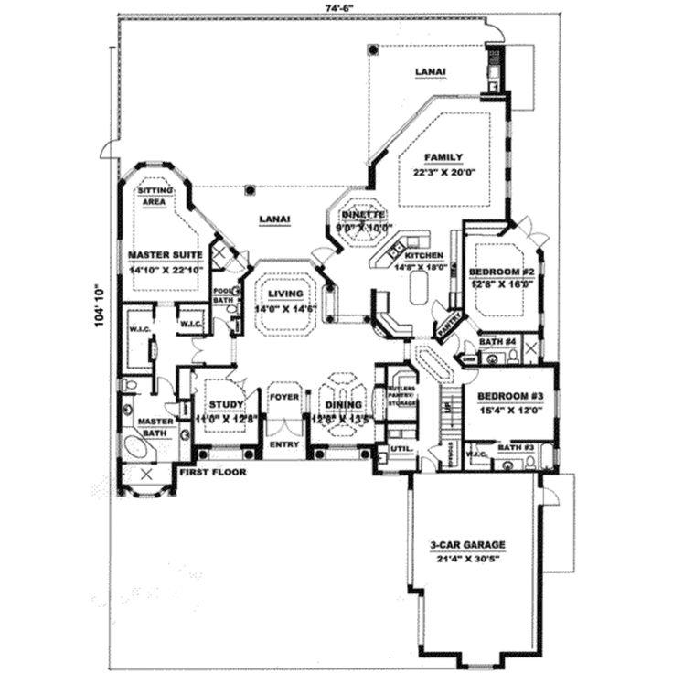 454 best Floor / House Plans images on Pinterest   House floor ...