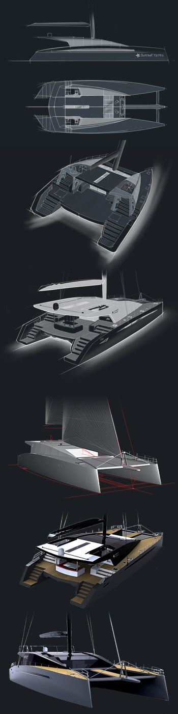Stages of yacht design