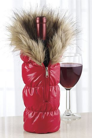 Just to keep the wine from getting chilled. 29 Clever Gifts For People Who Love To Drink