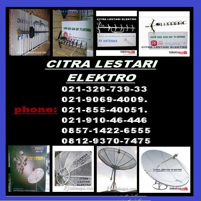 jasa pasang antena tv dan parabola otomatis venus JAKARTA