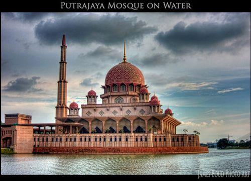 Putrajaya Mosque on Water – Malaysia