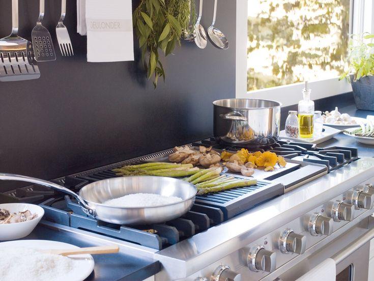 Elegant K chen Traditionell Klocke MIELE Gasherd Una cocina espectacular de inspiraci n inglesa ElMueble Cocinas y ba os