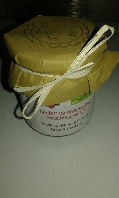 Confettura di pomodoro rosso e vaniglia biologici Az Agricola Profumi di Campagna di Cimone di Trento